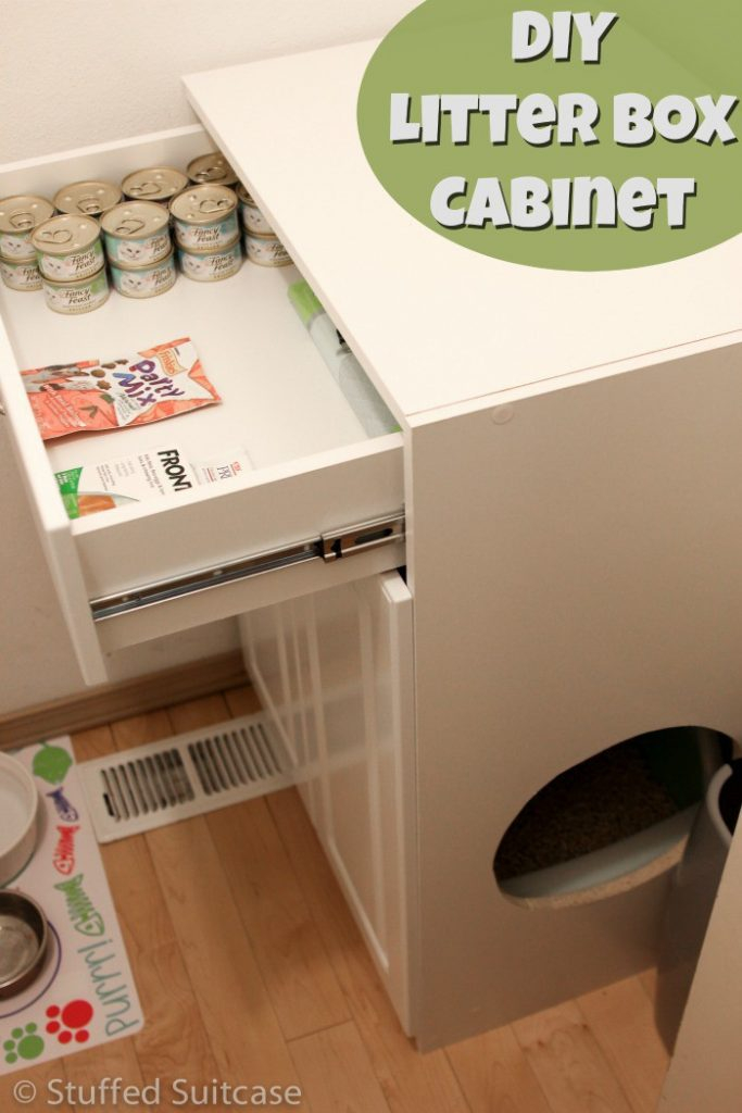 DIY Litter Cabinet