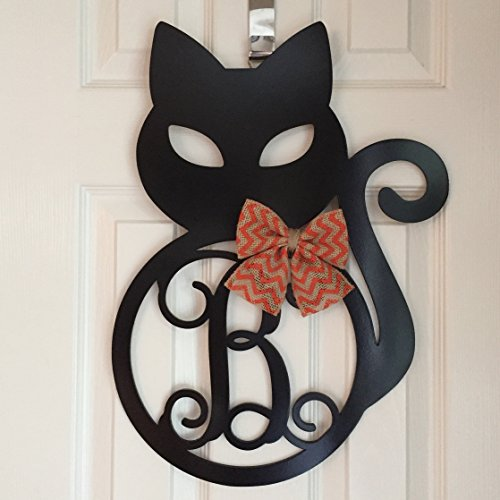 fall cat themed decor