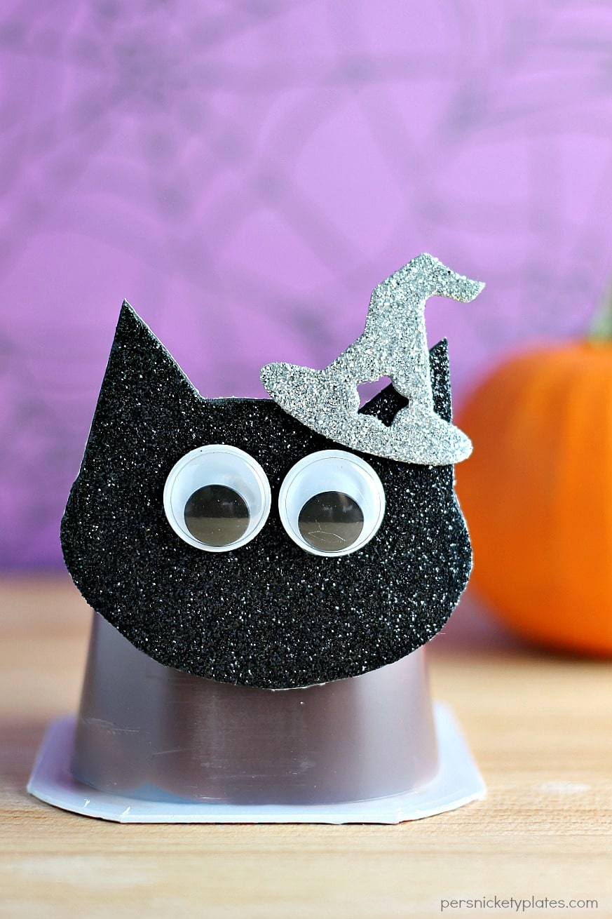 Cat Halloween Crafts - Cat Pudding Pack - Persnickety Plates